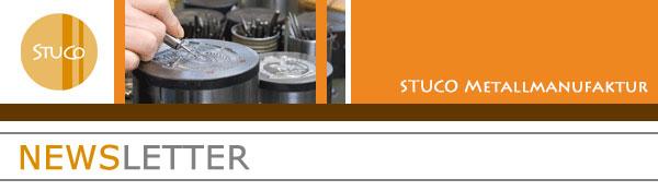 STUCO Werbemittel Newsletter Header
